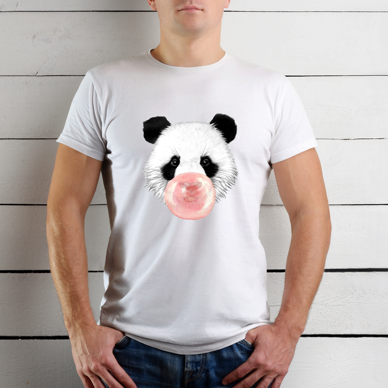 Bubble Gum Panda - T-shirt Homme