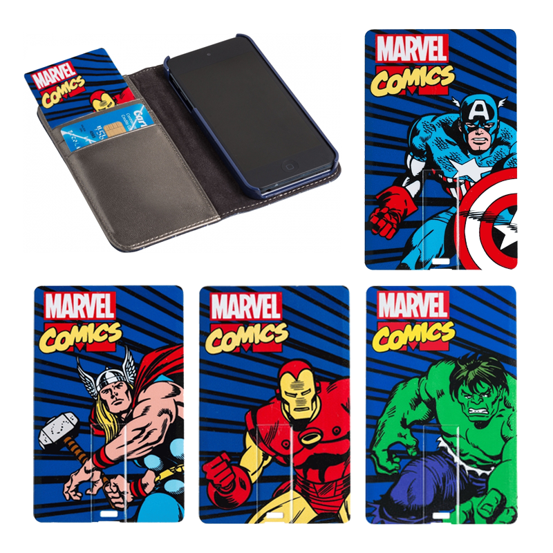 Cartes USB Super-héros 8Go