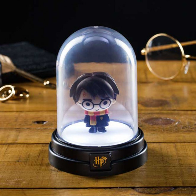 Minis lampes sous cloche Harry Potter