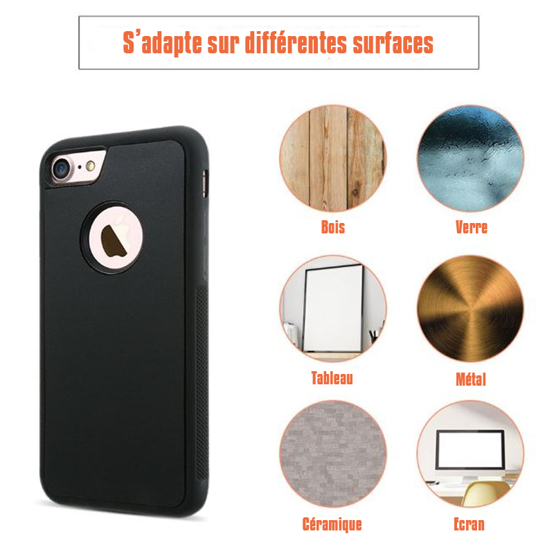 Coque iPhone antigravité