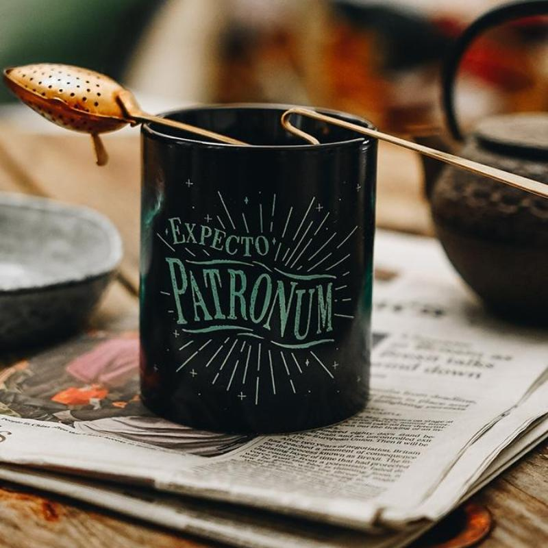 Mug fluorescent Harry Potter Expecto Patronum