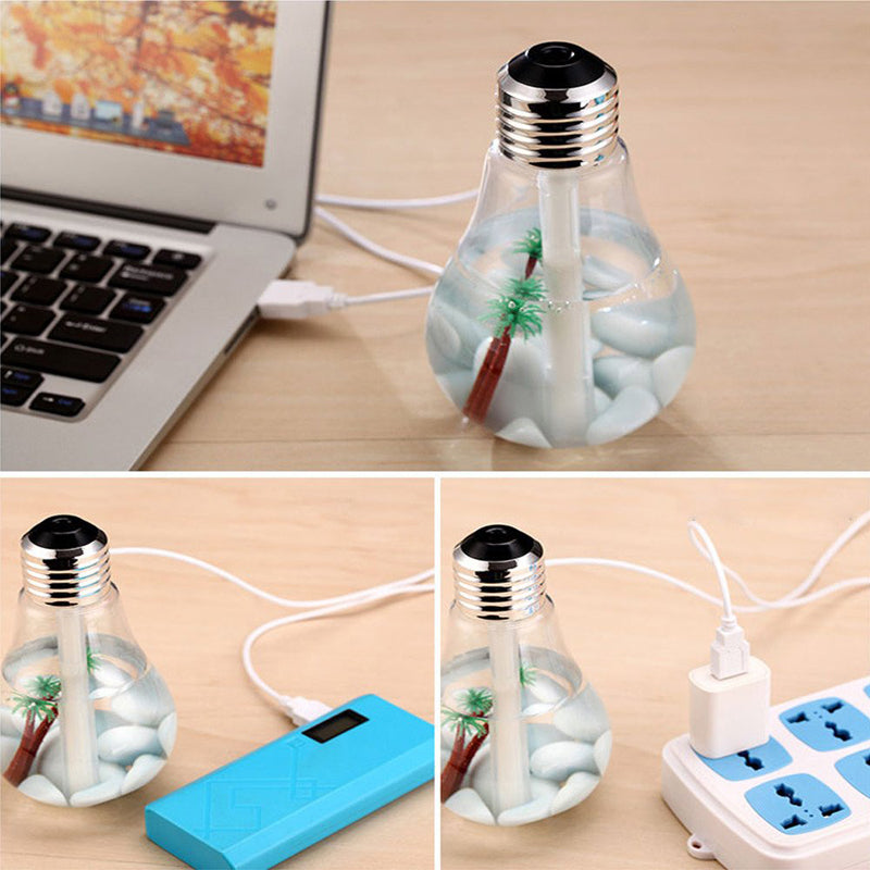 "Humidificateur d'air ""ampoule"" USB"