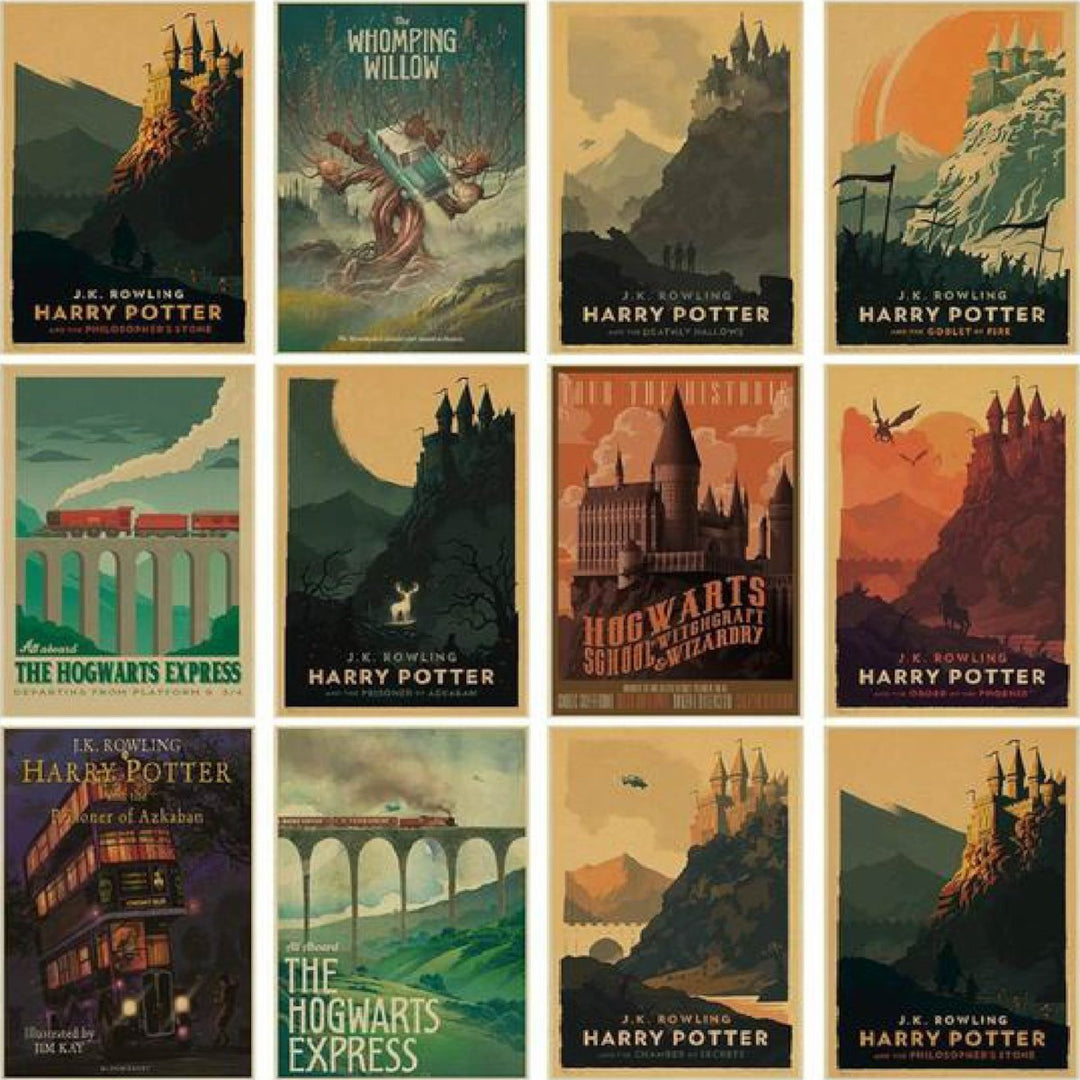 Posters Vintage Harry Potter