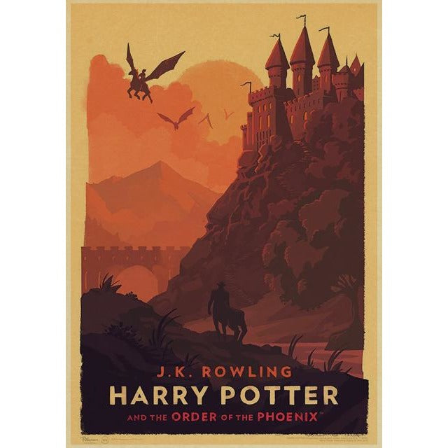 Poster Vintage Harry Potter - Greenpills