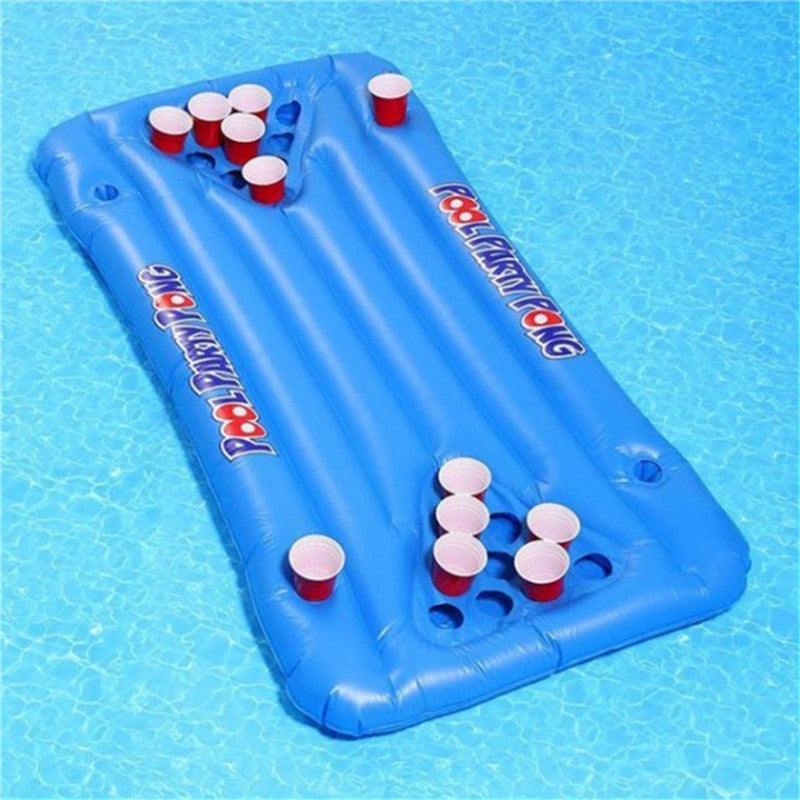 "Matelas gonflable ""Beer Pong"" - Greenpills"
