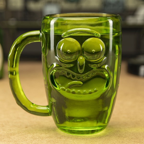 Verre Pickle Rick