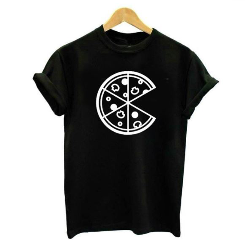 "T-shirts ""Pizza"" pour couple"