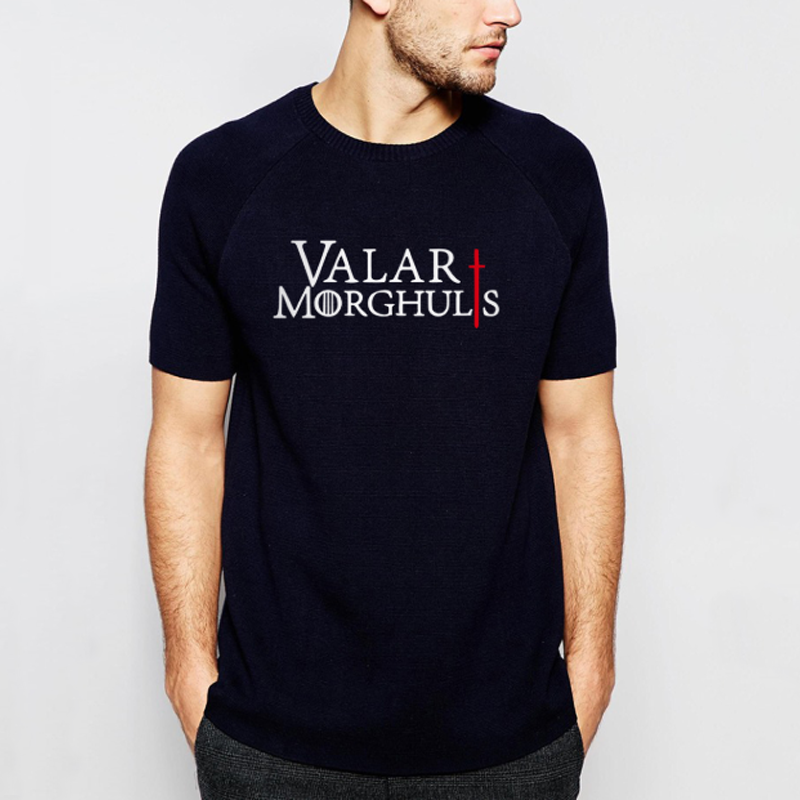 "T-shirts GOT ""Valar Morghulis"""