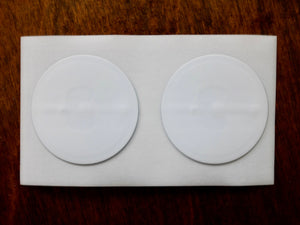 Launch Center Pro Shielded NFC stickers (White 2 pack)