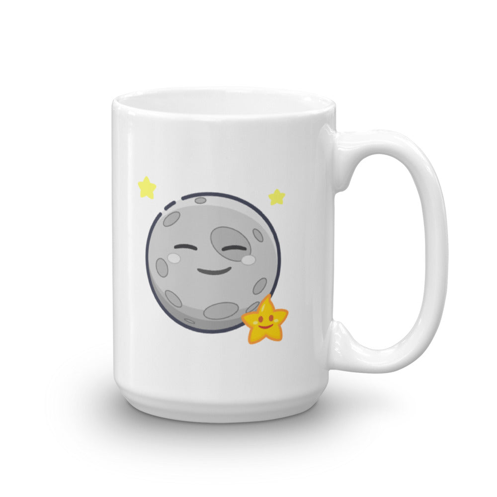 Weather Up Happy Moon mug