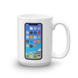 Cute iPhone mug