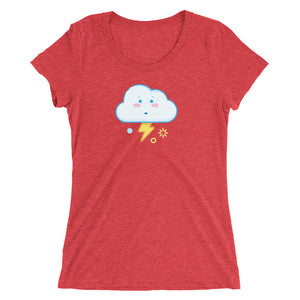 Weather Up Stormy t-shirt (women's)