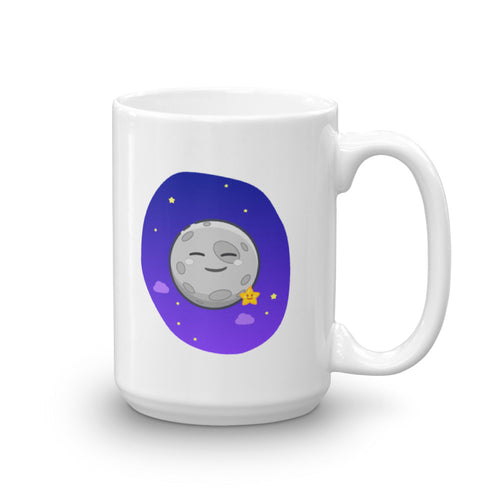 Happy Moon Hero mug