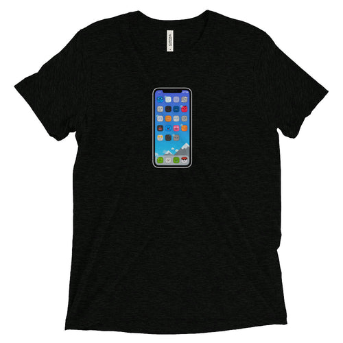 Cute iPhone t-shirt (unisex)