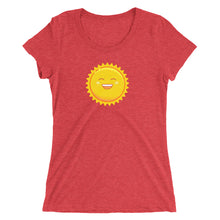 Load image into Gallery viewer, Weather Up Sun t-shirt (women's)