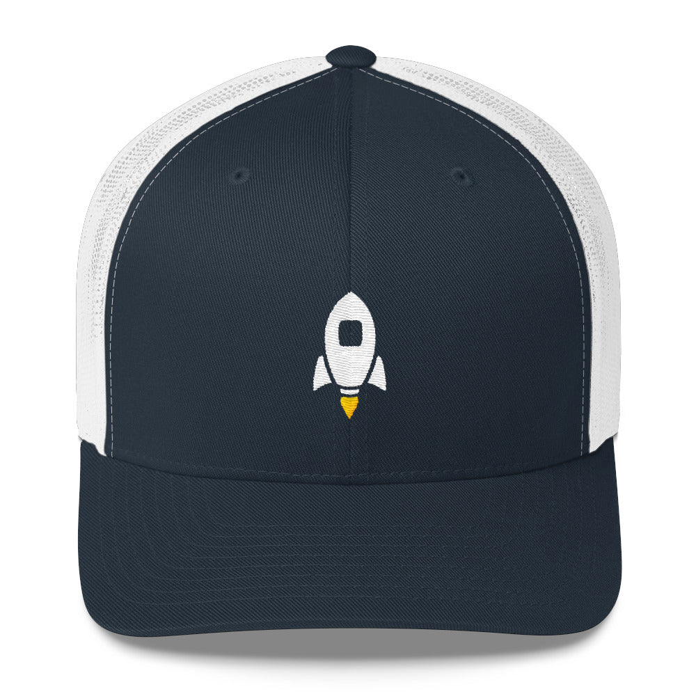 Launch Center Pro embroidered trucker cap