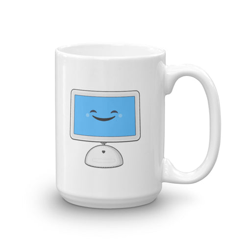 Sunflower iMac mug
