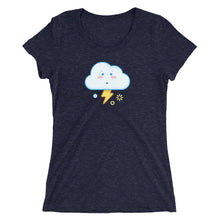 Load image into Gallery viewer, Weather Up Stormy t-shirt (women's)