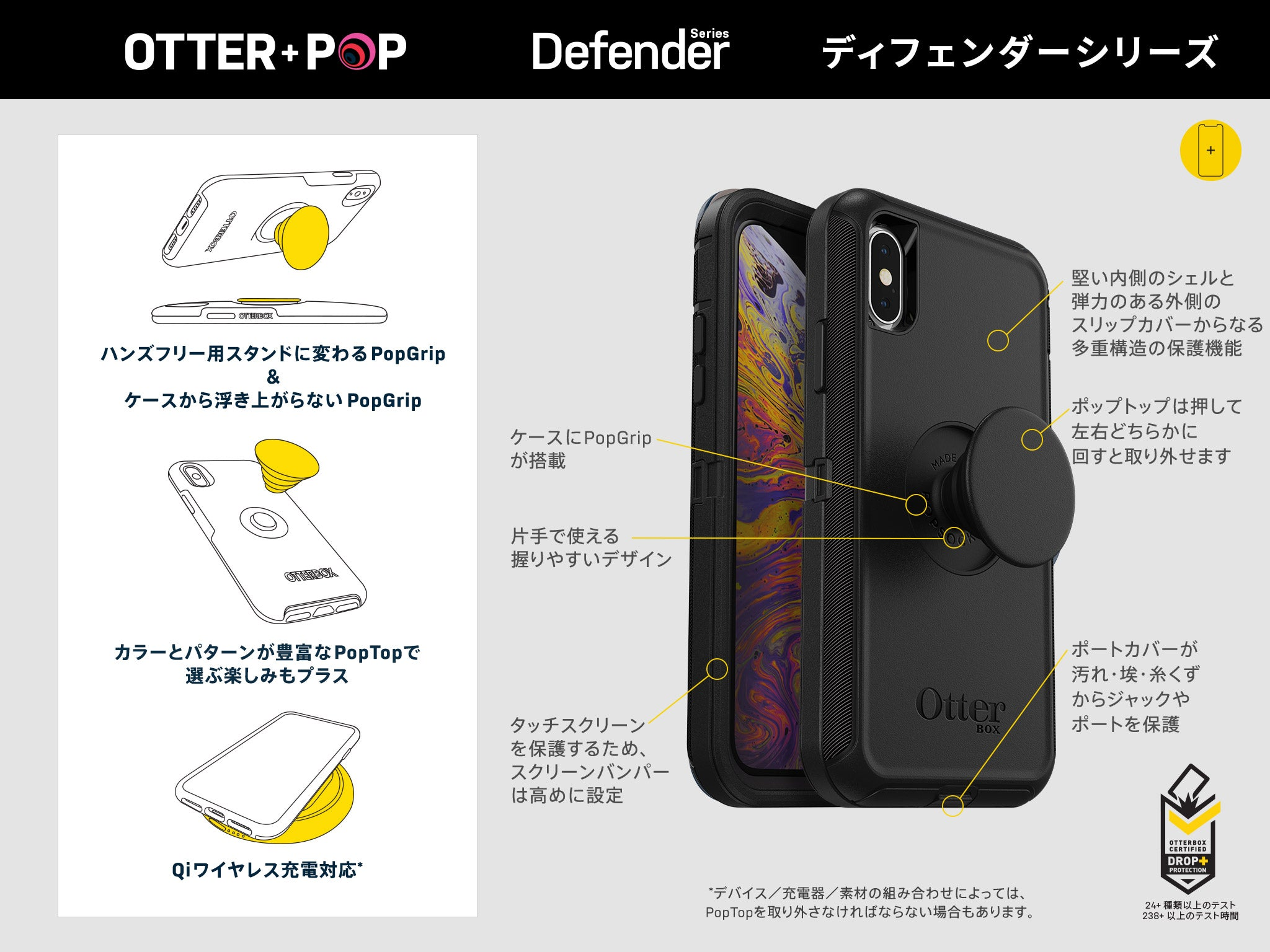 Electronics - OtterBox - OTTER + POP DEFENDER for iPhone SE 第2世代/8/7