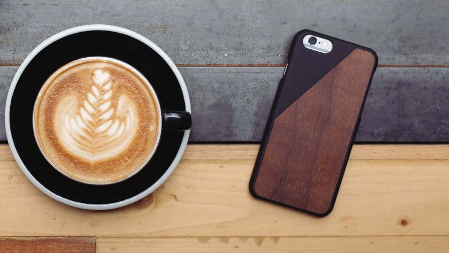 Coffee Cup - Native Union - CLIC WOODEN for iPhone SE 第2世代/8/7