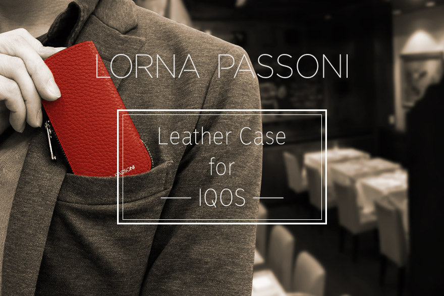 Clothing - LORNA PASSONI - Leather Case for IQOS