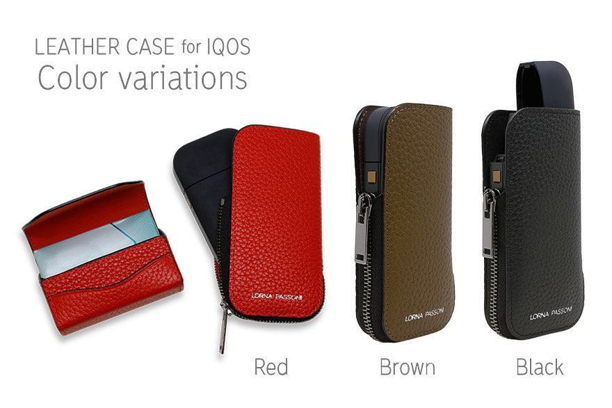 Electronics - LORNA PASSONI - Leather Case for IQOS