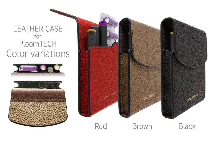 File Binder - LORNA PASSONI - Leather Case for Ploom TECH