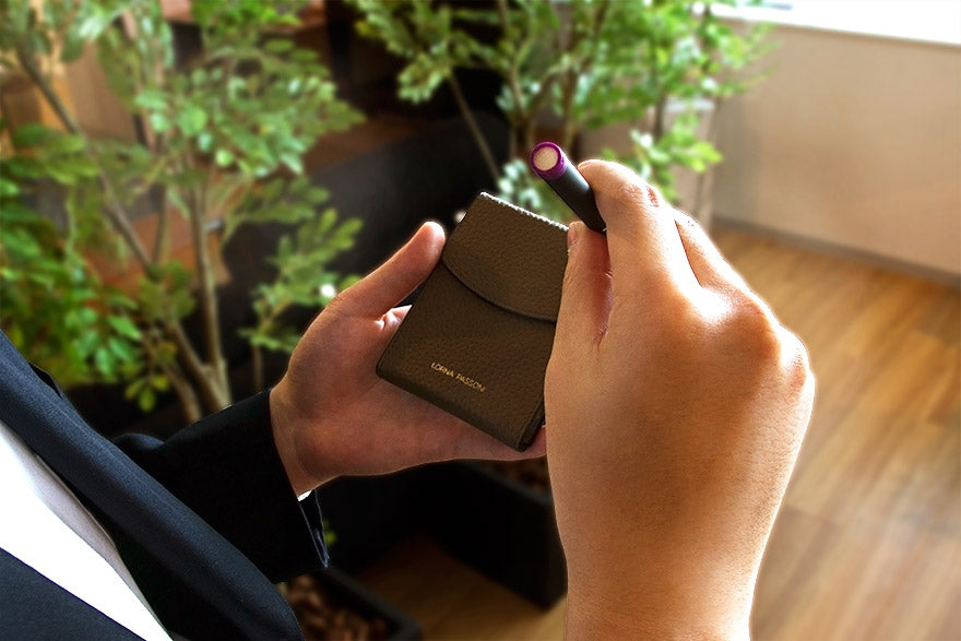 Pottery - LORNA PASSONI - Leather Case for Ploom TECH