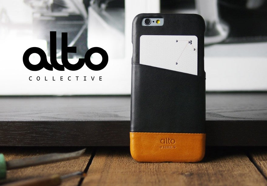 Mobile Phone - alto - Metro Leather Case for iPhone SE 第2世代/8/7