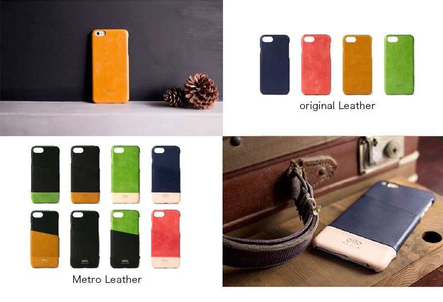 Phone - alto - Original Leather Case for iPhone 8 Plus/7 Plus