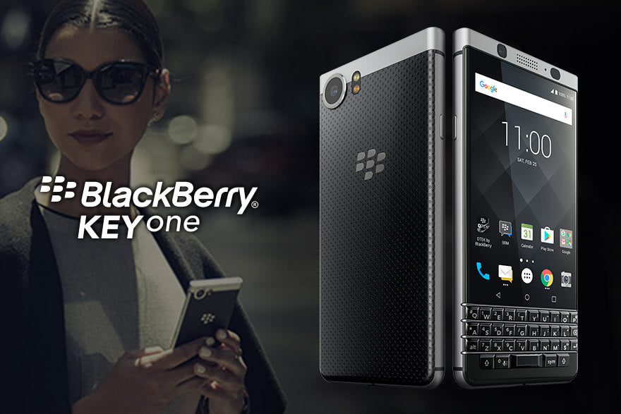 Electronics - BlackBerry - KEYone Silver 32GB<当サイト限定:純正ケース+フィルム特典付き>