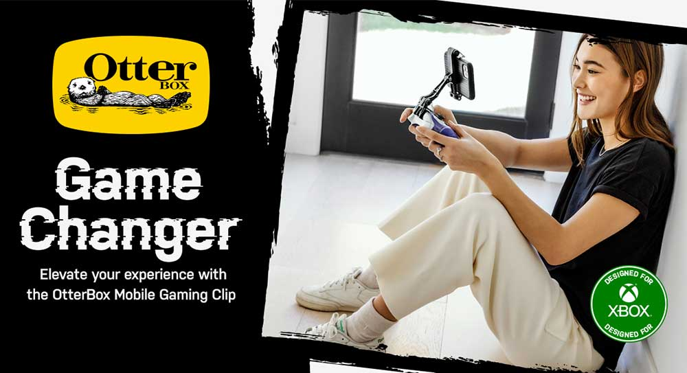 OtterBox - Mobile Gaming Clip [ Black ]