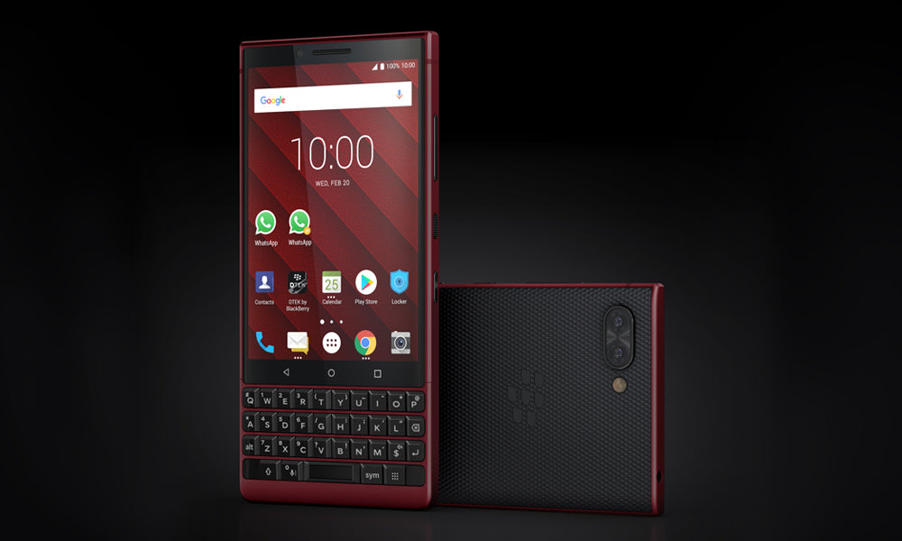 Cell Phone - BlackBerry - KEY2 RED EDITION<100台限定モデル>