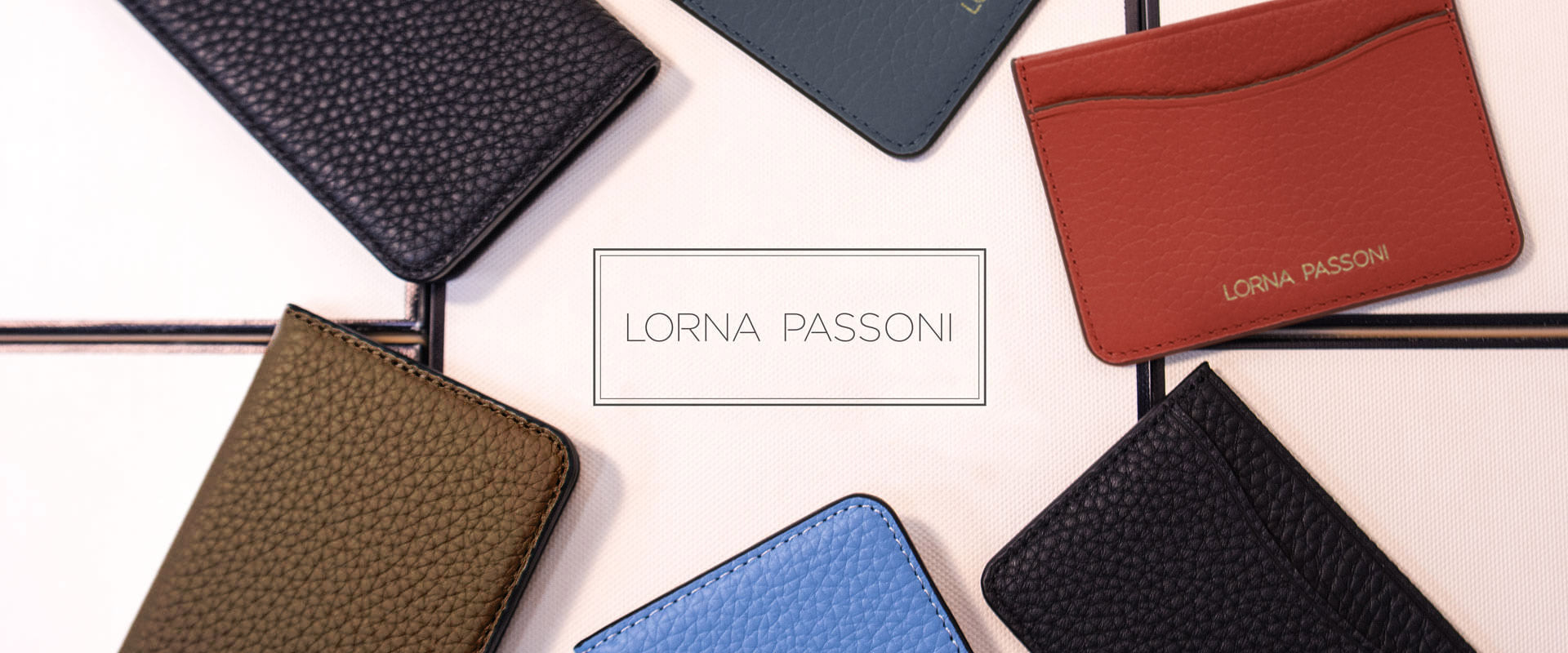 Accessory - LORNA PASSONI - Leather Folio Case for iPhone 8/7 Plus