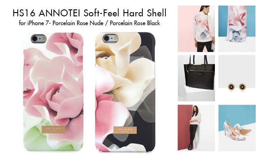 Human - Ted Baker - ANNOTEI Soft Feel Hard Shell for iPhone SE 第2世代/8/7/6/6s