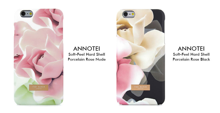 Plant - Ted Baker - ANNOTEI Soft Feel Hard Shell for iPhone SE 第2世代/8/7/6/6s