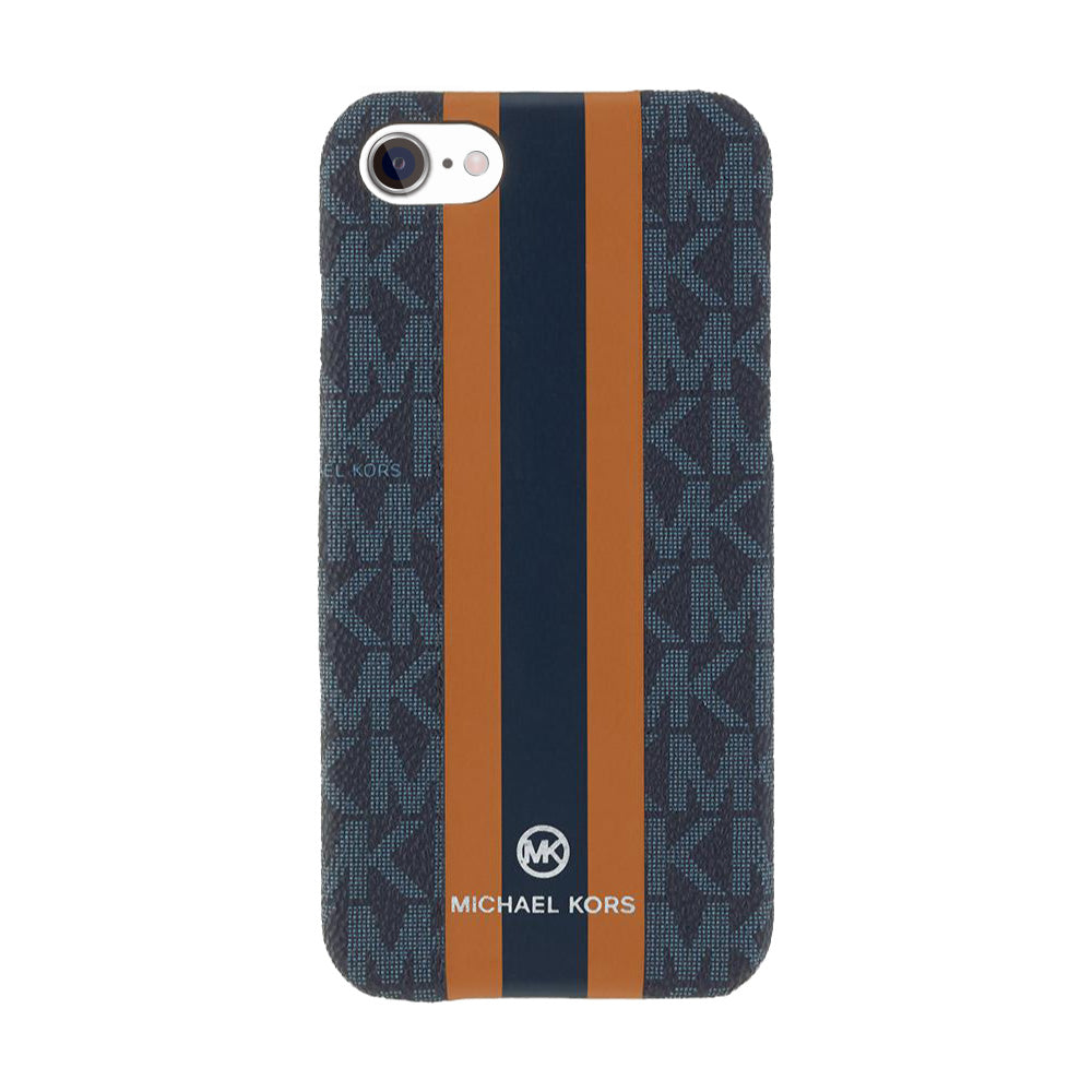 MICHAEL KORS - SLIM WRAP CASE STRIPE for iPhone SE - Admiral