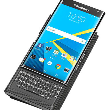 BlackBerry - BlackBerry PRIV Leather Smart Flip Case
