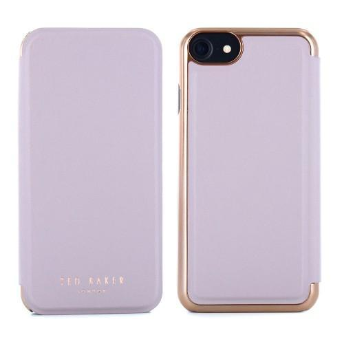 Ted Baker - KNOWAI Mirror Folio Case for iPhone 8/7 - Porcelain Rose / ケース - FOX STORE