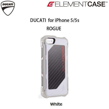 ELEMENTCASE - DUCATI ROGUE White for iPhone SE/5s/5 - caseplay