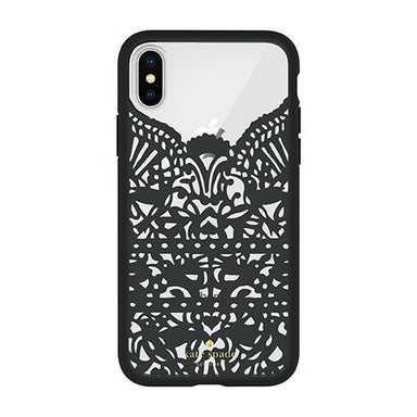 kate spade new york - Lace Cage Case for iPhone XS/X / ケース - FOX STORE