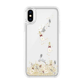 kate spade new york - Liquid Glitter Case for iPhone XS/X - caseplay