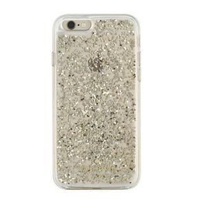 kate spade new york - Clear Glitter Case for iPhone 6s/6 - caseplay