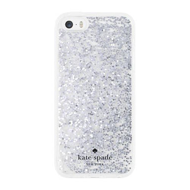 kate spade new york - UPDATE Clear Glitter Case for iPhone 5s/5/SE - caseplay