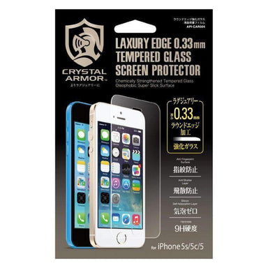 CRYSTAL ARMOR - for iPhone 5s/5c/5 / 画面保護 - FOX STORE