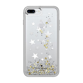 kate spade new york - Liquid Glitter Case for iPhone 8 Plus/7 Plus/6s Plus/6 Plus - caseplay