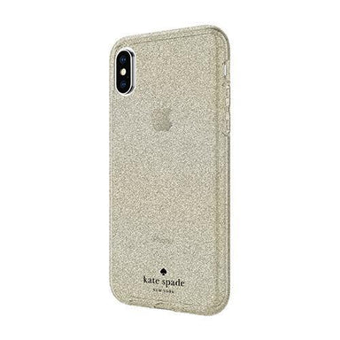 kate spade new york - Flexible Glitter Case for iPhone XS/X