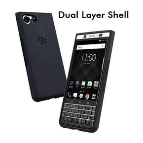 BlackBerry - BlackBerry KEYone DLB100 DUAL LAYER SHELL - caseplay