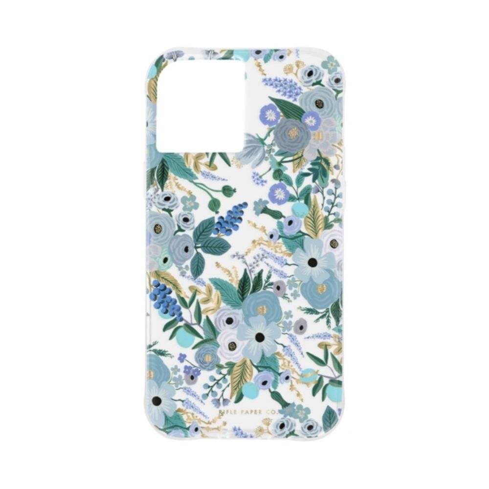 Rifle Paper Co. - Garden Party Blue for iPhone 12 Pro Max [ ブルー ]