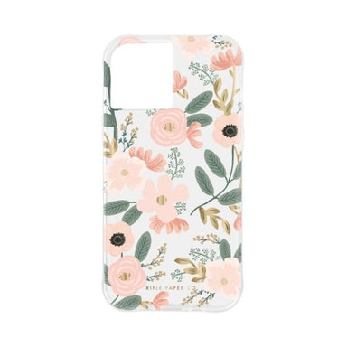Rifle Paper Co. - Wild Flowers for iPhone 12 mini [ ピンク ]